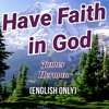 Have Faith in God, James Herman, English only, April 19, 2019, Lake City, FL