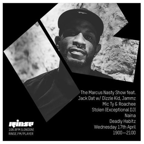 Ali McK & IYZ x Dryman - Infected Strings  // ripped from Rinse FM, Marcus Nasty Show