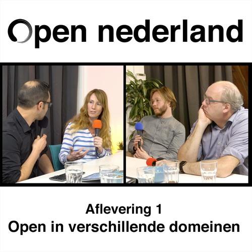 Open Nederland Podcast - Aflevering 1: Open in verschillende domeinen