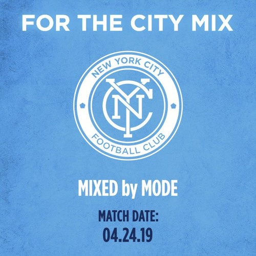 For the city mix (NYCFC vs. Chicago Fire 4/24/19) Bronx borough night
