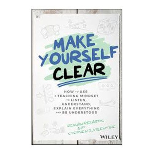 Podcast 707: Make Yourself Clear with Reshan Richards & Stephen J. Valentine