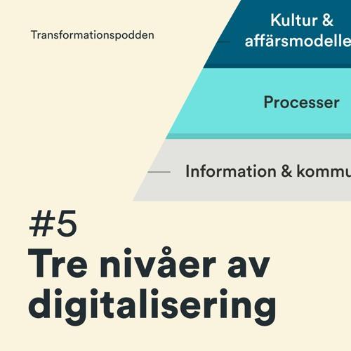 #5 - Tre nivåer av digitalisering