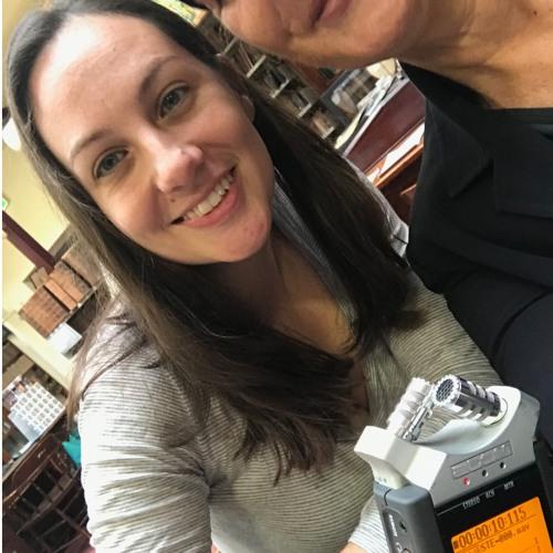POD & Amy chat at BMI April 2019