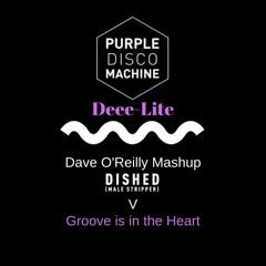 Purple Disco Machine v Deee-Lite - Diced (Groove Is In The Heart)