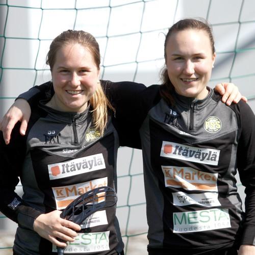 Ella Ja Fanny Holmberg Uusimaa urheilutoimituksen haastattelussa