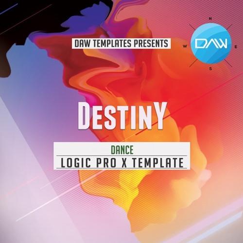 Destiny Logic Pro X Template Dance
