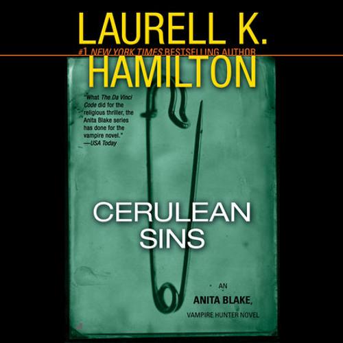 Cerulean Sins by Laurell K. Hamilton, read by Cynthia Holloway