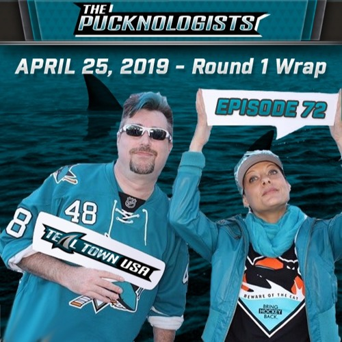 The Pucknologists - EP 72 - Round 1 - San Jose Sharks vs Vegas Golden Knights