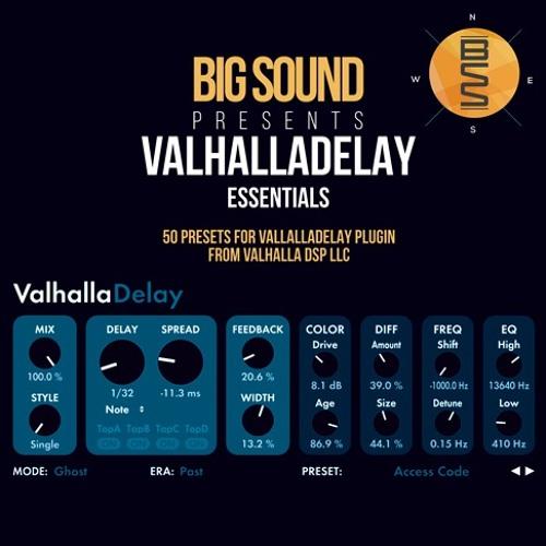 Big Sound - ValhallaDelay Essentials Demo