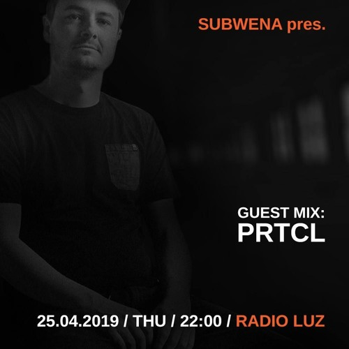 Guest mix for Radio Luz - Subwena
