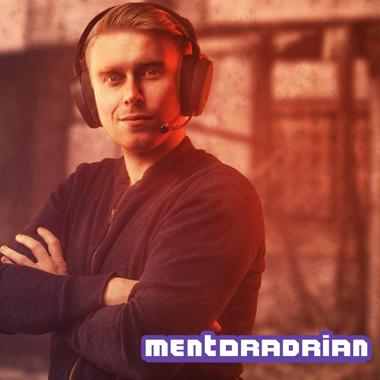 Twitch-Reisen Episode 1   MentorAdrian - en ny streamer er født