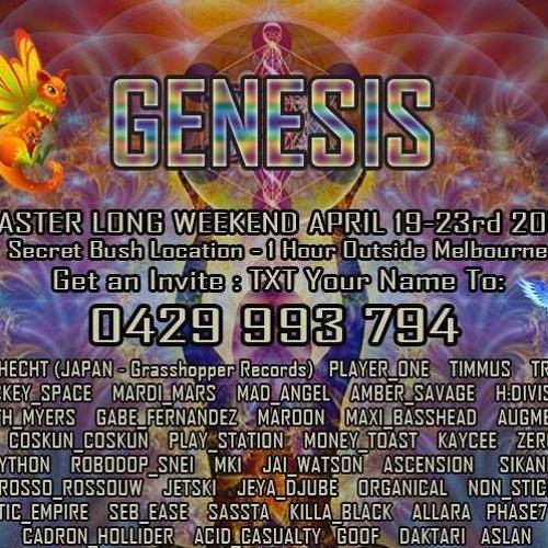 Augmented - Genesis Monday Morning 2:30am