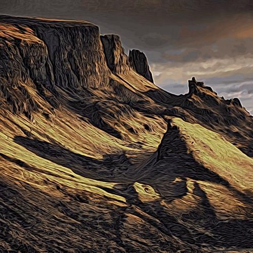 Quiraing (Thematic Isle of Skye, Scotland)