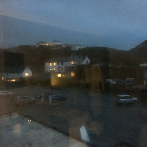 One Minute in a Storm-Shook Hotel Room by a Cornish Beach (Crackington Haven): Aug 17