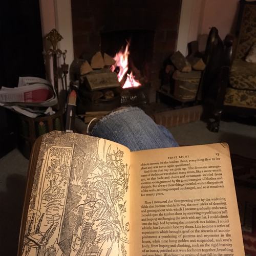 One Minute by a Fireplace (Sussex): Nov 18