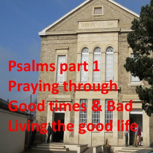 Psalms pt 1: Living through good & bad times:  Living the Good Life. Matthew 7 Vs 13 - 24, Psalm 1