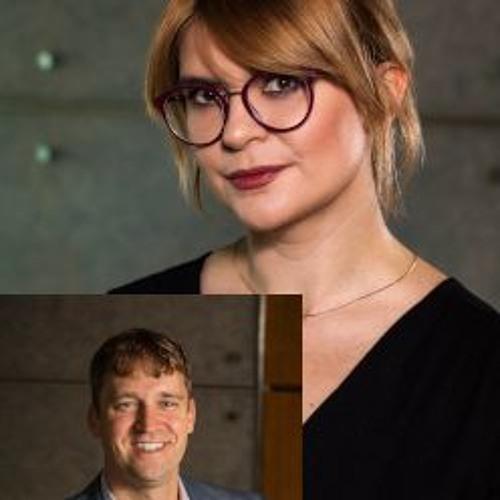 Olga Polishchuk and Jeremy Haas