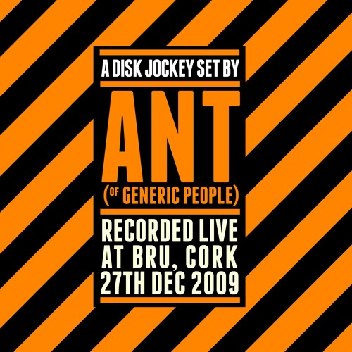 Ant( of the Generic People)  live @ Bru 27th Dec 2009 pt3