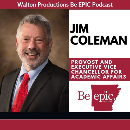 Provost Jim Coleman discusses the ecostystem test and direction of the University of Arkansas