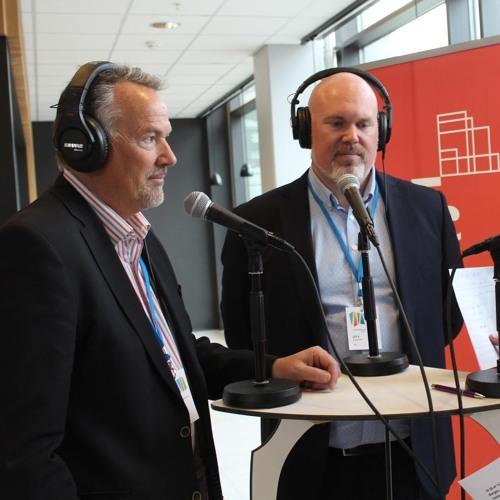 Leif A Stavøstrand (Evoy)og Stefano Vittor (Olvondo Technology) SPIRprisen 2019