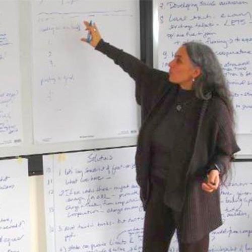 Rosa Zubizarreta - On Holding Space and Listening