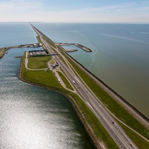 #10 De Afsluitdijk: meesterwerk in de steigers
