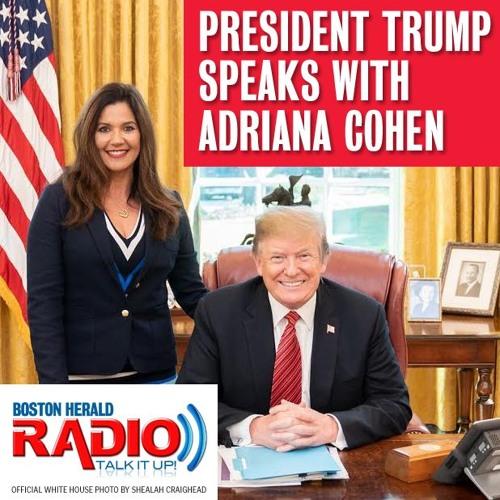 President Donald Trump joins Herald Radio's Adriana Cohen