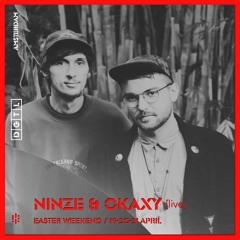 NINZE & OKAXY *live @ DGTL 2019