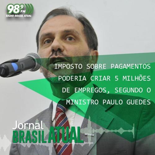Imposto sobre pagamentos poderia criar 5 milhões de empregos, segundo o ministro Paulo Guedes