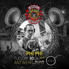 Phi Phi @ Bonzaï Awards Party @ Ikon / Anvers 30 04 2019