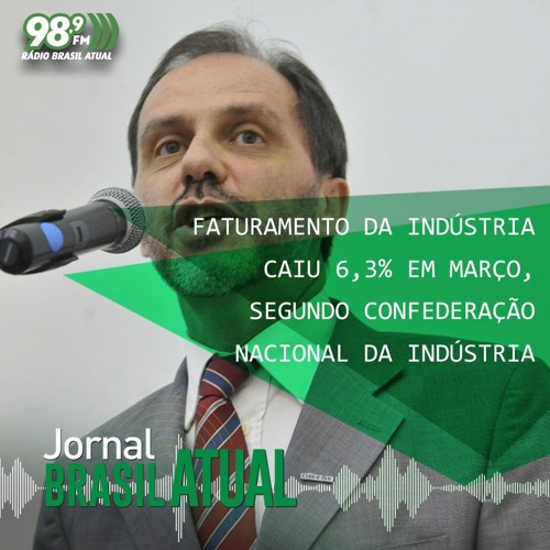 Faturamento da indústria caiu 6,3% em março, segundo Confederação Nacional da Indústria