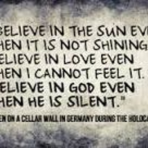 Even When God is Silent - 5:3:19, 12.47 PM