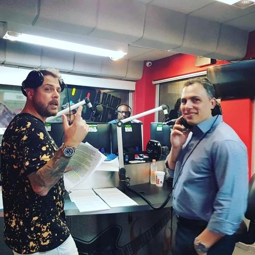 Dr Leandro Mauro participou do programa Quem não faz toma da 89FM a Rádio Rock