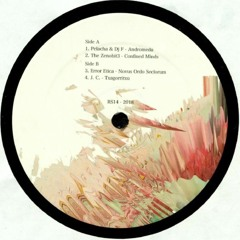 """Confined Minds - Andromeda EP x 12"""" Vinyl ( Redsonja Records 014 )"""