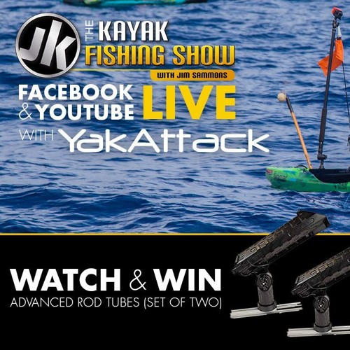 Luther Cifers From Yakattack Joins The Kayak Fishing Show LIVE