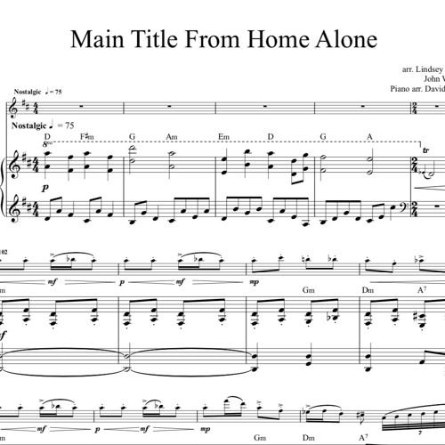 Home Alone Theme Piano Accompaniment Sample