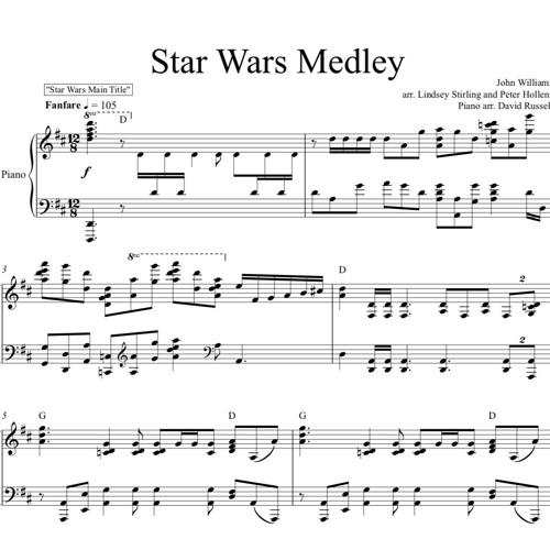 Star Wars Medley Piano Solo