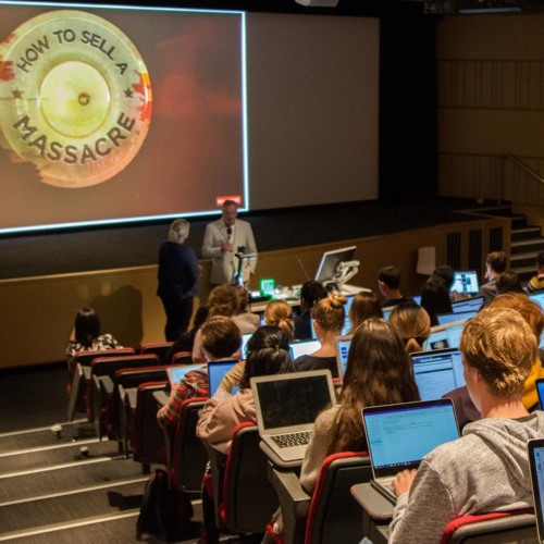 UTS Journalism Guest Lecture: Peter Charley on the making of How to Sell a Massacre