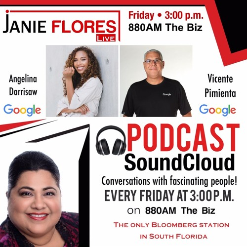 #JanieFloresLive chats with Angelina Darrisaw and Vicente Pimienta