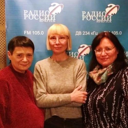 Программа «Акценты» на «Радио России. Иркутск» с героями сборника «Свой путь» и Еленой Твороговой