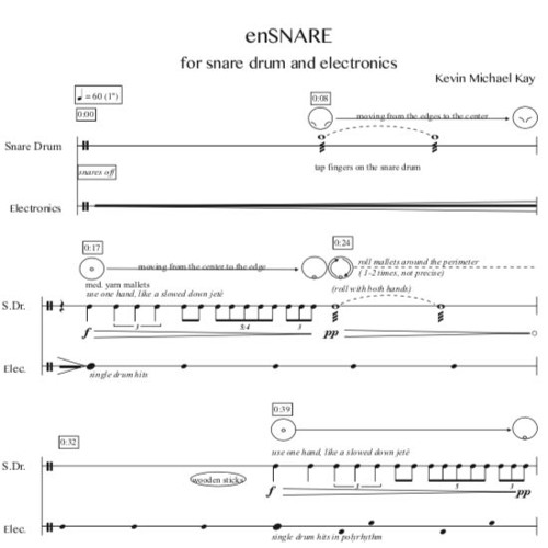 enSNARE for snare drum and electronics