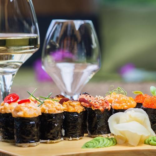 Episode 73-Wine And Sushi, How White Zinfandel Saved Napa