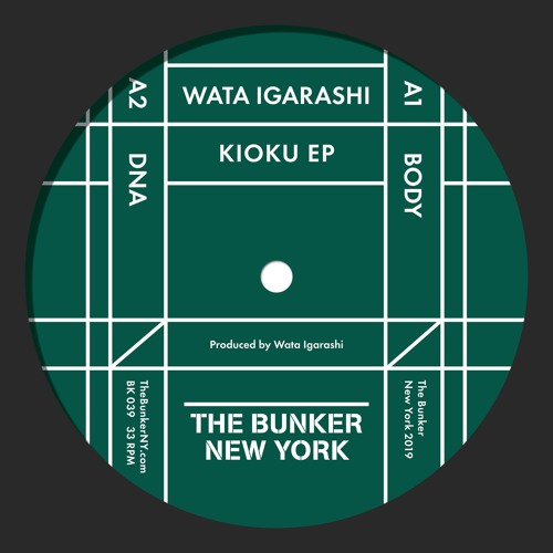 "Wata Igarashi ""Kioku"" EP (The Bunker New York BK-039) CLIPS"