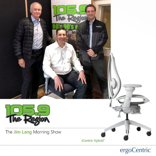ergoCentric in Conversation with 105.9 The Region
