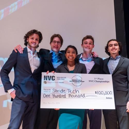 Stride Tech, NVC 11 Winner: Timothy Visos-Ely, BE in Engineering Plus