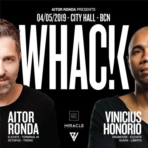 Aitor Ronda  @ WHACK - City Hall , Barcelona  (4 - 5-19)