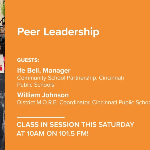 Class In Session - Peer Leadership - May 4, 2019