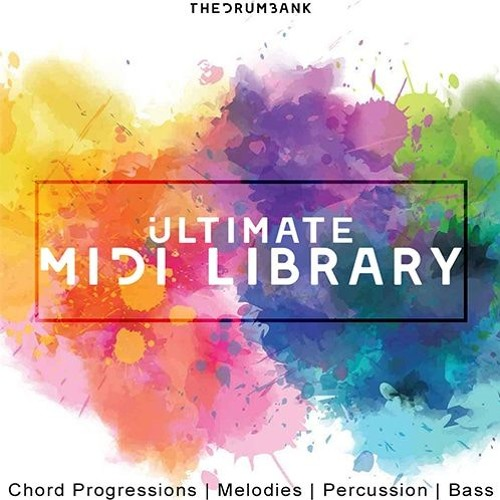 TheDrumBank Ultimate Midi Library Volume 1 MiDi-DISCOVER