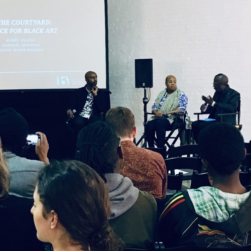 FORUM New York 2019: In The courtyard: a space for Black art
