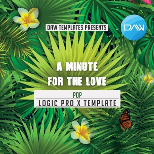 A minute for the love Logic Pro X Template